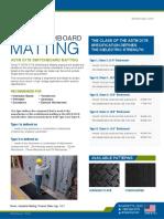 ASTM D178 SWITCHBOARD MATTING