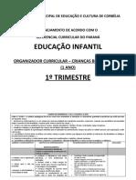 ANA - ORGANIZADOR CURRICULAR – CRIANÇAS BEM PEQUENAS (1 ANO) 1º TRIMESTRE (1) ANA.docx