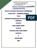 PRACTICA No 02_DISTRIBUCION_DE FRECUENCIAS_ALEXANDER_LAURA_ESTADISTICA_CONTABILIDAD II