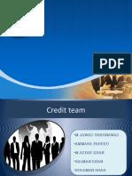 Credit Presentation