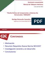 Diseno sismico de tabiques (Rodrigo Retamales)