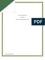 APA Paper Unit 1 IP