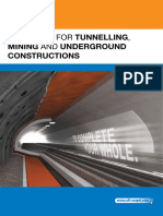 Book - Mapei solution for Tunnel 1