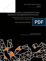 GUIMARÃES, J (2017). Performar o outro
