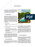 Ecosistema - definizione e ciclo