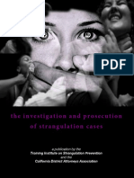 Investigation and Prosecution of Strangulation Cases - CA DA's Assoc