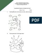 Guía de Aprendizaje Programa de Integración Escolar Kinder
