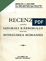 Recenzie asupra istoriei Războiului pentru Întregirea României.pdf