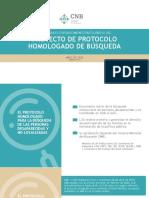 Presentación del Proyecto del Protocolo Homologado de Búsqueda de Personas Desaparecidas (Comisión Nacional de Búsqueda, México)