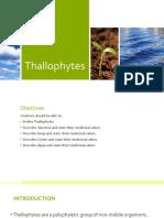 6. Thallophytes 2