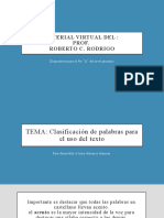 4toA - Comu 28-05-2020 - Tipos de palabras.pptx