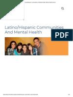 Latino_Hispanic Communities and Mental Health _ Mental Health America