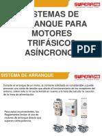 ARRANQUE PARA MOTORES TRIFÁSICOS ASÍNCRONOS