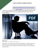 Adicción y Salud mental - Siete de cada diez adictos padecen algún trastorno mental.docx