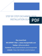 Step by Step Exchange 2019 Installation guide for anyone v1.2