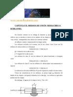 apuntes de estructuras metalicas (ITOP)-03CAPÍTULO II. MEDIOS DE UNIÓN. ROBLONES Y TORNILLOS
