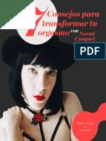 Cosejos Para Transfomar tu Orgasmo