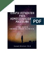 Terapia Reparativa Homossexualidade Masculina - Nicolosi