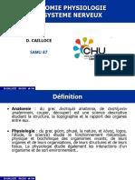 Anat Physiologie Du Systeme Nerveux 2011