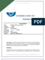 DD-1 Training Report