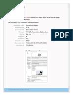 receipt_Presentation Outline