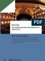 Corrado, O. [comp.] (2019). Recorridos, Diez estudios sobre música culta argentina de los siglos XX y XXI. FFyL.pdf