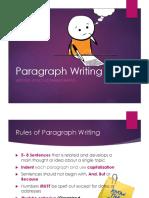 Paragraph Writing