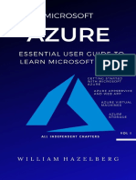 AZURE_ MICROSOFT AZURE_ Essential User Guide to Learn Microsoft Azure