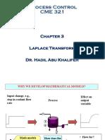 Chapter 3 - Laplace Transform 2020