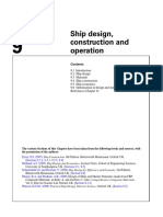 Ship design, construction and operation