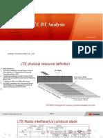 LTE DT Analysis Slides