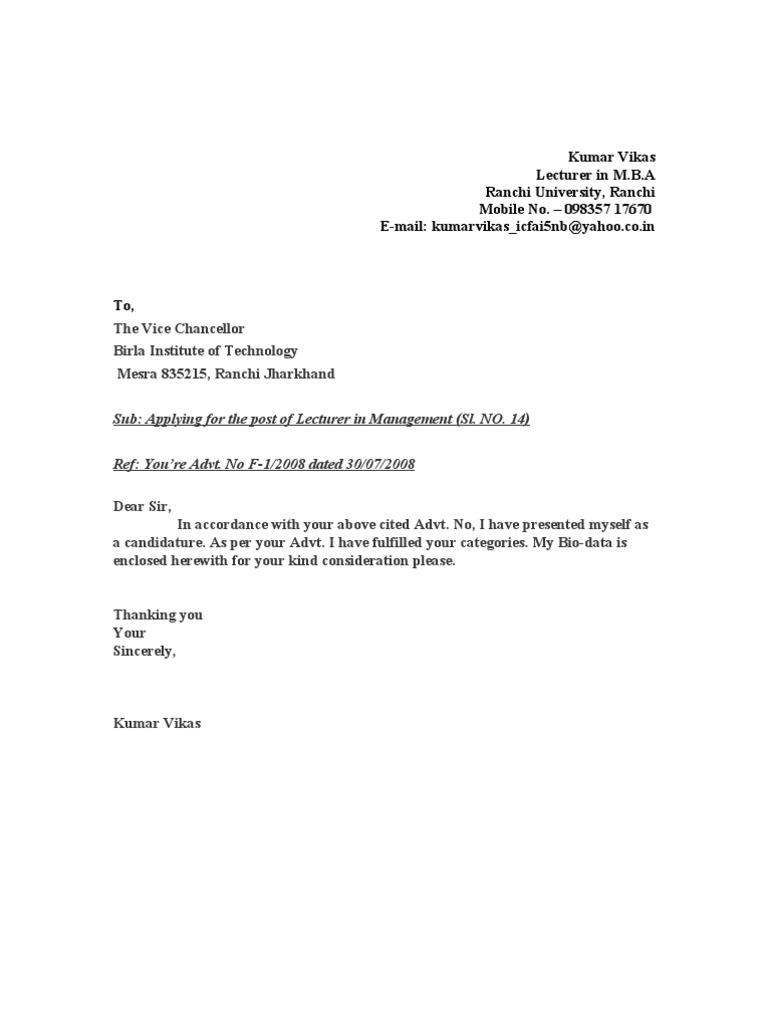 Bon Cv Of Assistant Professor In Management