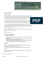 Language Documentation & Conservation (LD&C) 4, 2010_ Ta