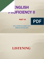 ENGLISH PROFICIENCY 2 - II (LISTENING).pptx