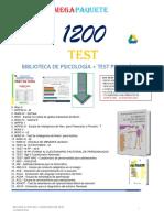 Listado 1200 Test Psicológicos-1