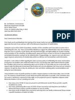 Housley LTC letter