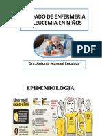 Cuidados de Enfermeria en Leucemia en Niños