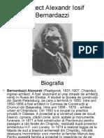 Arhitect Alexandr Iosif Bernardazzi.ppt