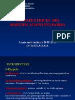 06. Thérapeutiques Des Mortifications Pulpaires