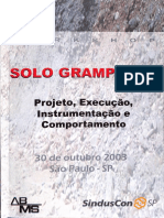 Solo Grampeado - Projeto Execução Instrumentação e Comportamento