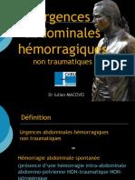 06 Urgences abdominales hémorragiques (non-traumatiques) JBIUA 2013