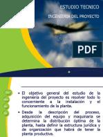 ESTUDIO TECNICO (CLASE 10)