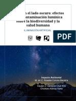 Mejor en el lado oscuro_ efectos de la contaminación lumínica sobre la biodiversidad y la salud humana
