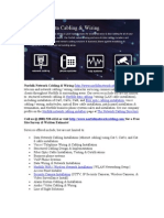Norfolk Network Cabling Fiber Optic Services