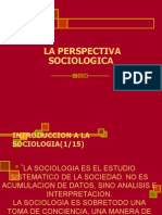 1sociologia Perspectiva Sociologica 2010a