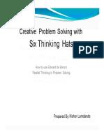 6 Hat thinking Techniques.pdf
