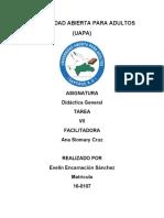 TAREA  VII DIDACTICA