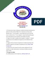 1. Introducción  DOCTRINAS FUNDAMENTALES DE LA BIBLIA (1)