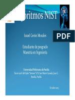 Algoritmos NIST