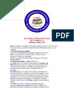 2. DOCTRINAS FUNDAMENTALES DE LA BIBLIA (2)